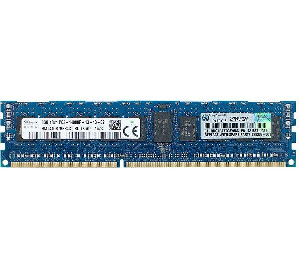 735303-001 Memória Servidor HP DIMM SDRAM de 8GB (1x8 GB)