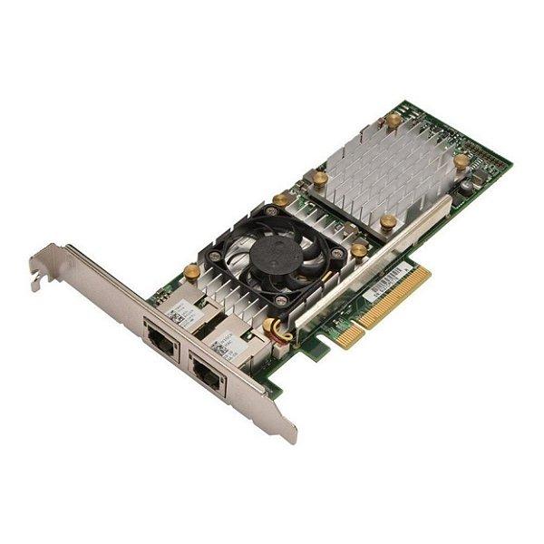 540-BBGU Placa de Rede Broadcom 57810 Dual Port 10Gb Base-T DELL