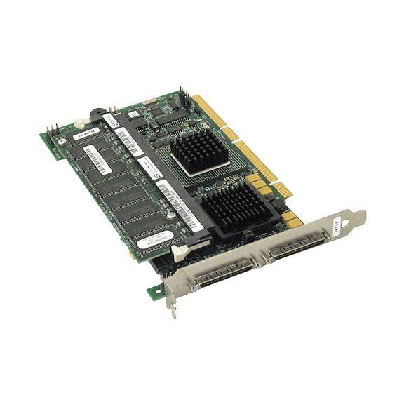 0D9205 Placa Controladora Dell PERC 4 / DC de 128MB SCSI PCI-X RAID