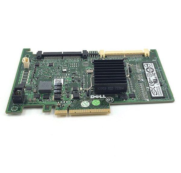 0DX481 Placa Controladora Dell PERC 6 / i 256MB SAS / SATA RAID