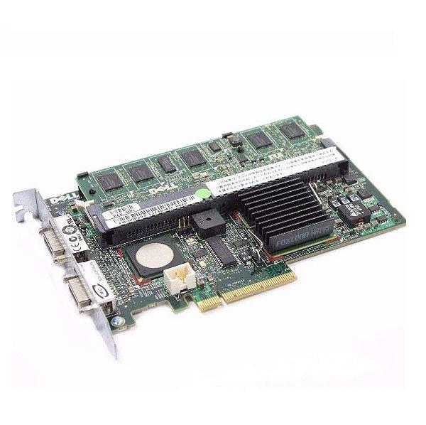 0FD467 Placa Controladora não RAID SAS 5 / E 256MB PCIe SAS - Dell
