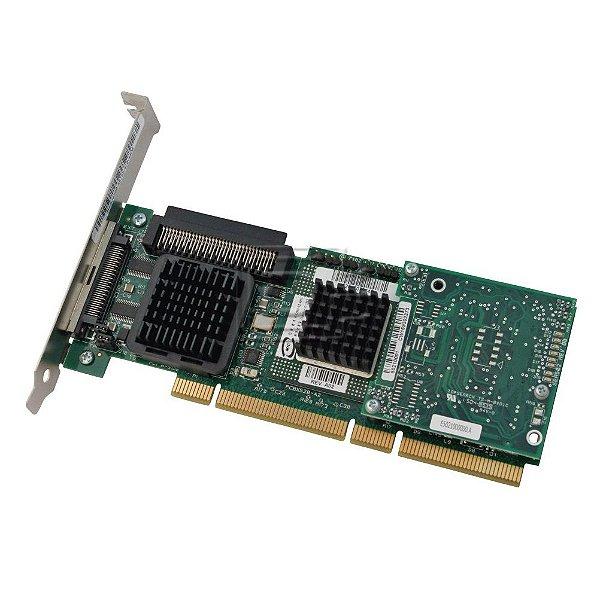 1U295 Placa Controladora RAID PCI-X PERC 4 / SC 64MB da Dell