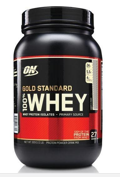 100% Whey Protein Gold Standard (907g) - Optimum Nutrition