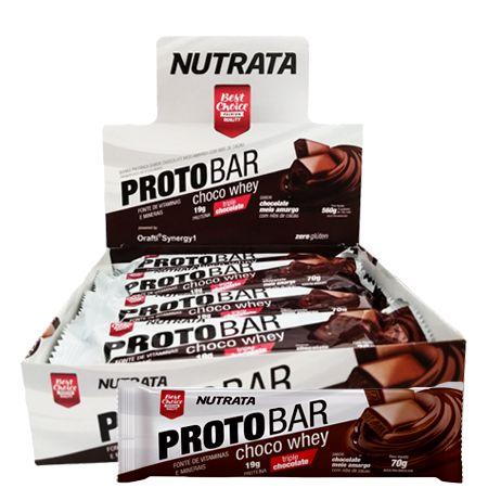 ProtoBar Caixa (8 unidades) - Nutrata