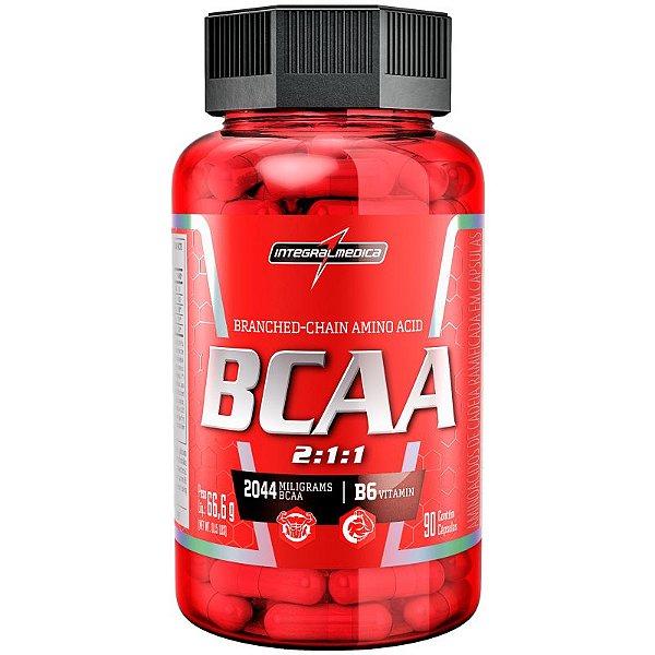 BCAA 2044 - 2:1:1 (90 cápsulas) - Integralmedica