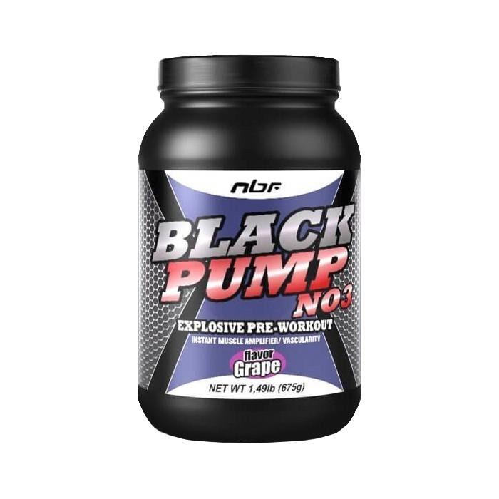 Black Pump NO3 (675g) - NBF Nutrition