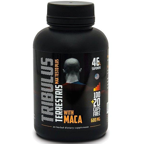 Tribullus Terrestris + Maca (120 caps) Max Power