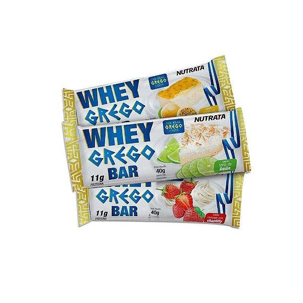Whey Grego Bar (1 unidade) Nutrata