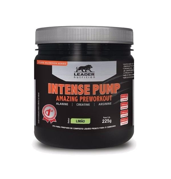 Intense Pump (225g) Leader Nutrition
