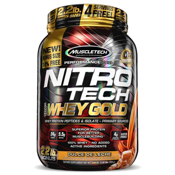 Nitrotech Whey Gold (1.02kg) Muscletech