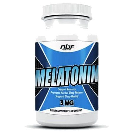 Melatonina (100 cápsulas) NBF Nutrition