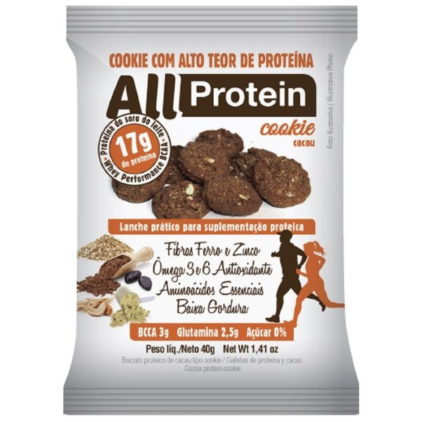 Cookie Proteico (1 unidade) All Protein
