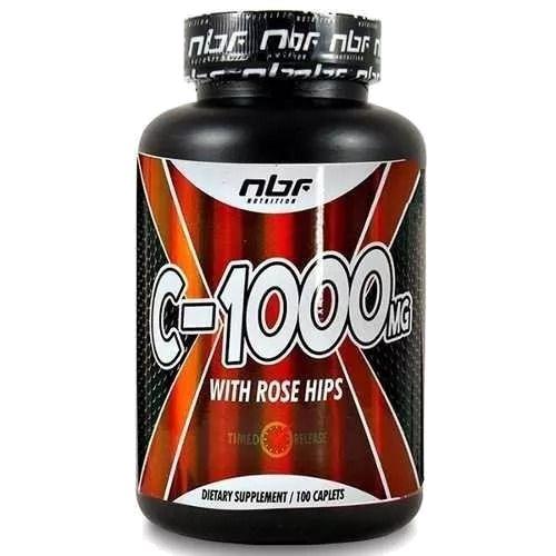 Vitamina C (100 cápsulas) NBF Nutrition
