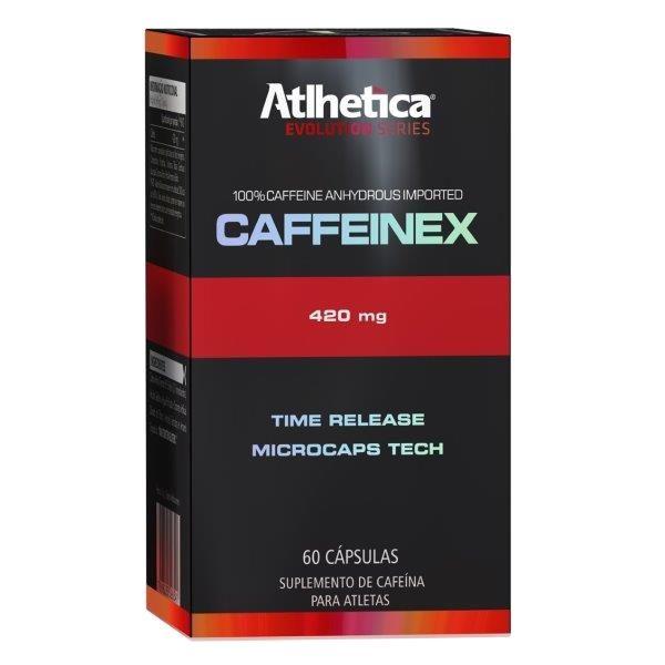 Caffeinex (60 CÁPSULAS) Atlhetica Nutrition