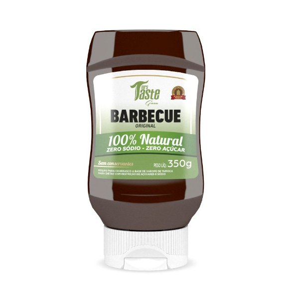 Barbecue Natural Green (350g) Mrs. Taste