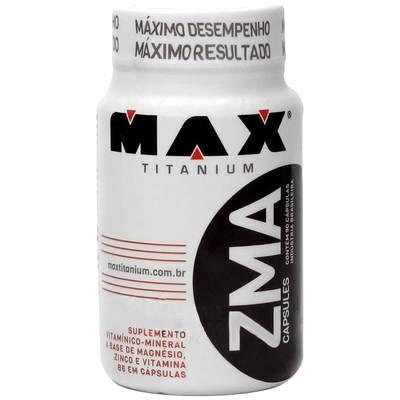 ZMA (90 capsulas) Max Titanium