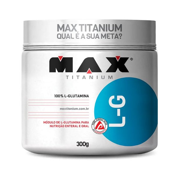 Glutamina (300g) Max TItanium