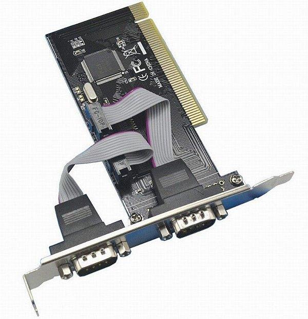 Placa Serial 2 Portas PCI Db9 Rs232