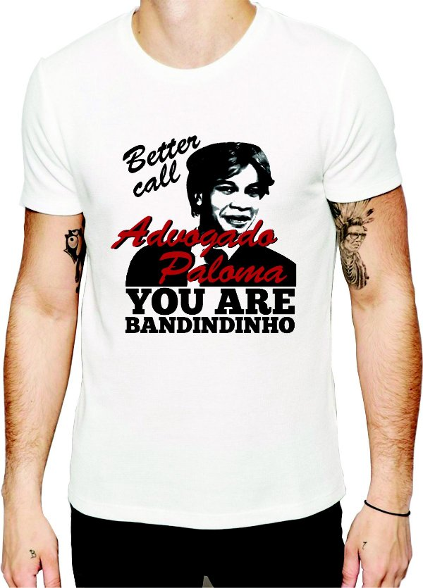 CAMISETA ADVOGADO PALOMA - ESTAMPA EXCLUSIVA BANCA DO HUMOR