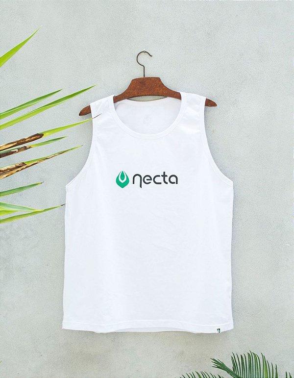 Regata Padrão Branca - Logo Necta