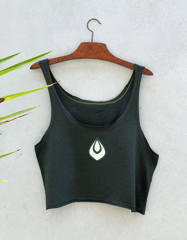 Cropped Slim Verde - Gota Necta