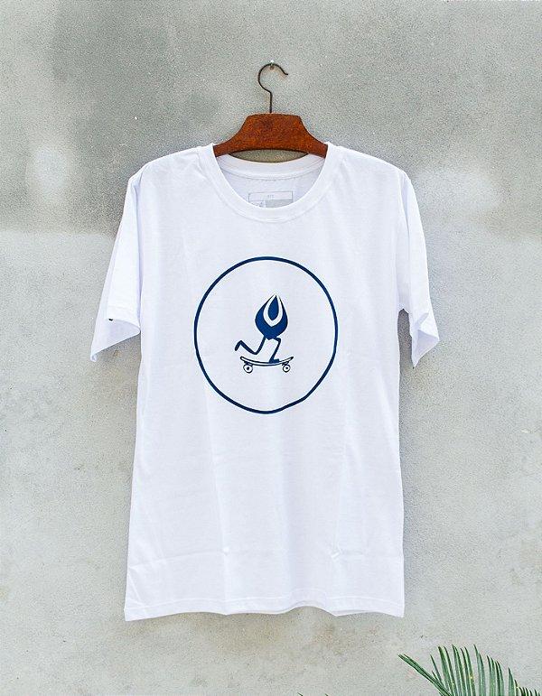 Camiseta Slim-Fit Branca - Necta Seeder