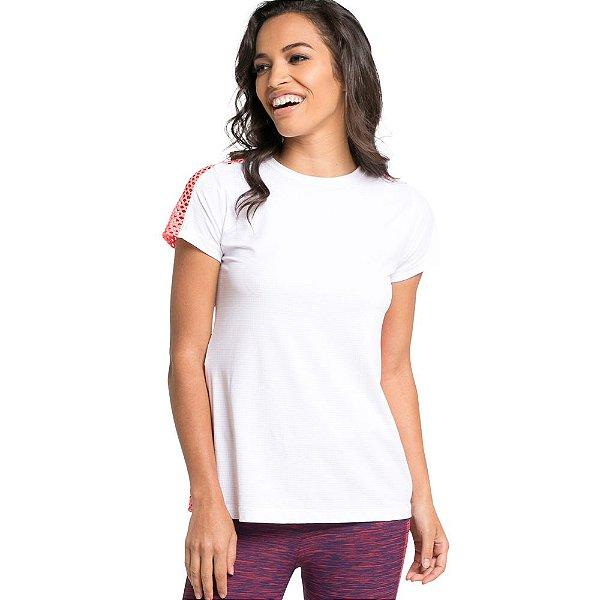 Camiseta Jacquard Pet Dry com costas em tela