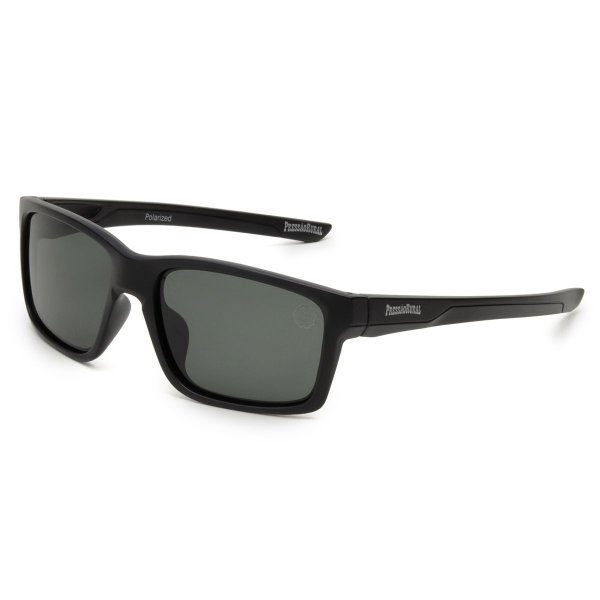 Óculos de Sol Pressão Rural Acetato Masculino Preto