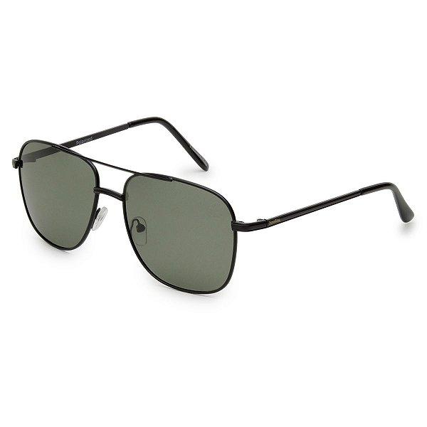 Óculos de Sol Pressão Rural Metal Unissex Preto