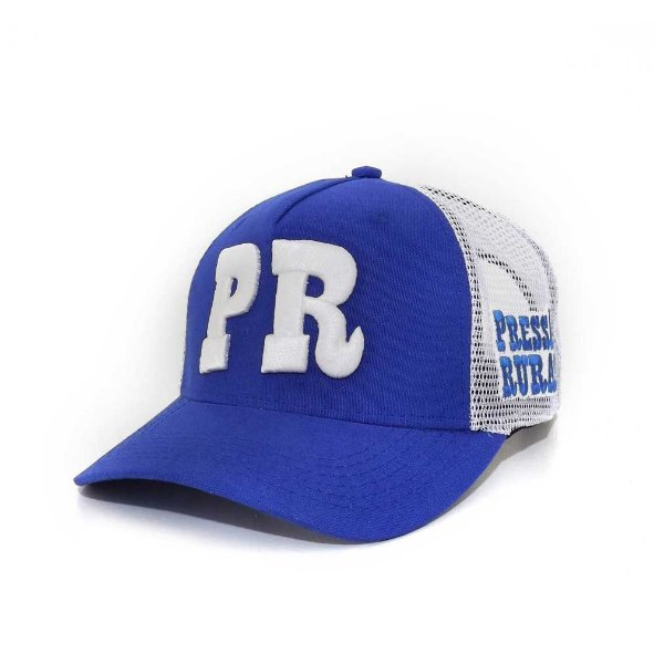 Boné Pressão Rural - Azul PR