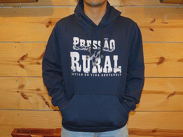Moletom Pressão Rural - Azul Rodeio
