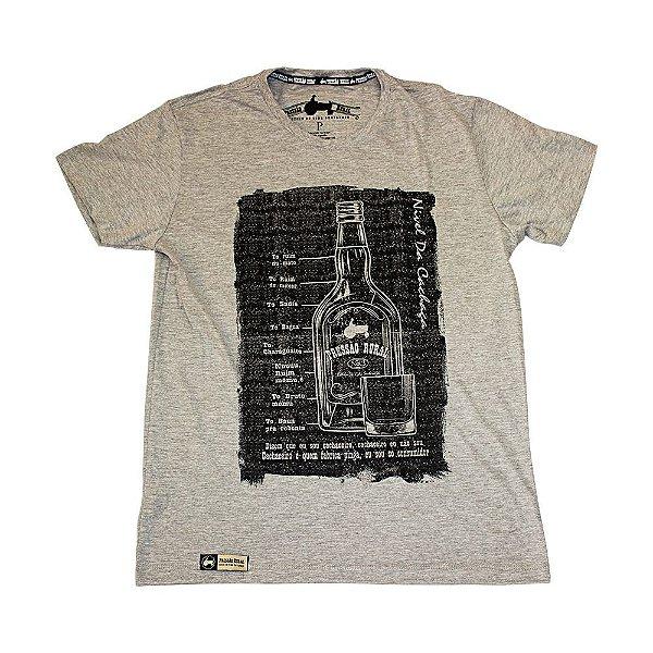 Camiseta Pressão Rural - Estampa Nível de Cachaça