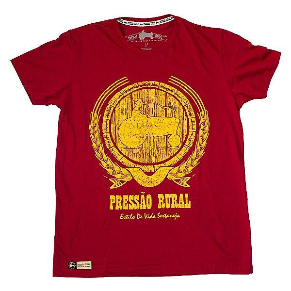 Camiseta Pressão Rural - Tonel de cachaça