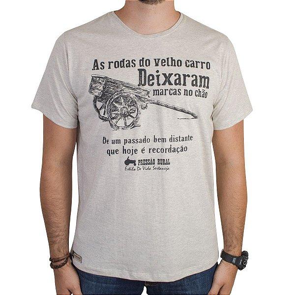 Camiseta Pressão Rural - Recordação do Carro de Boi