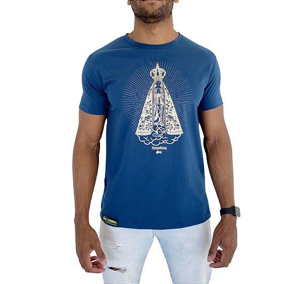 Camiseta Pressão Rural - Nossa Senhora Azul Marinho