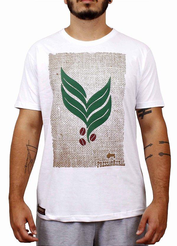 Camiseta Pressão Rural - Folha de Café Logotipo ///PR