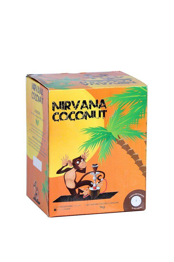 Carvão Nirvana Coconut 1Kg