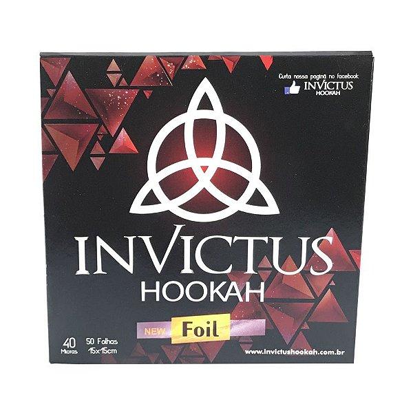 Papel Aluminio Invictus Foil 50 Folhas