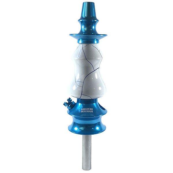 Stem Amazon Hookah Prime - Azul/Onix Branco-Azul