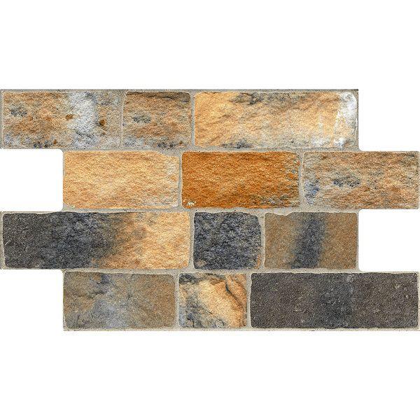 Revestimento Bricks Corten HD 31x54