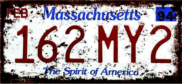 Placa Decorativa Massachusetts