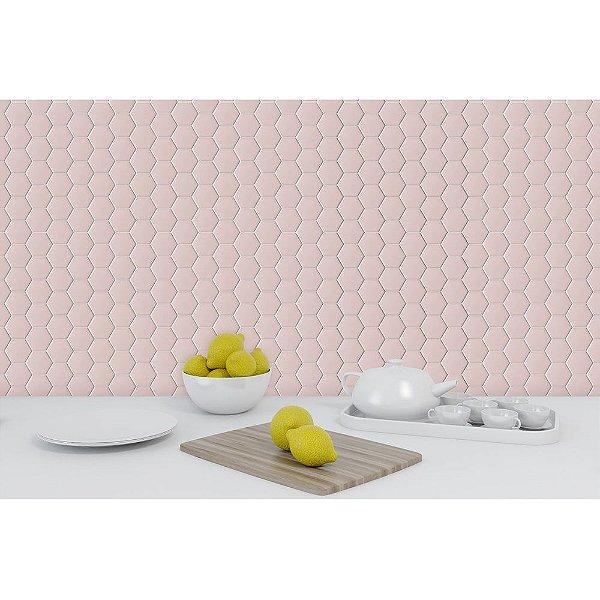 Revestimento Hexagonal Soft Pink