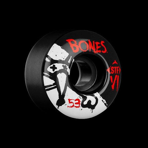 RODA BONES WHEELS STF V1 SERIES 53MM BLACK