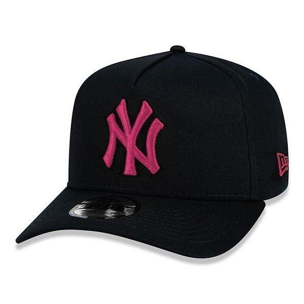 Boné New Era Yankees 940 A-Frame Veranito - Black/Pink