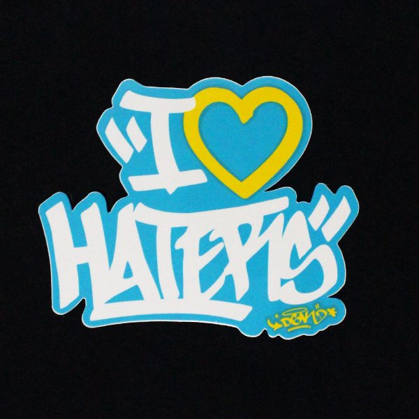 ADESIVO STICKERS DGK HATERS - GREEN