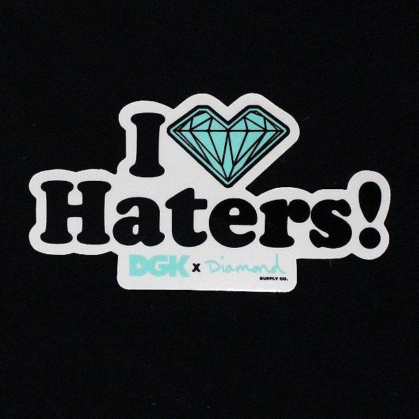 Adesivos DGK x Diamond I Love Haters