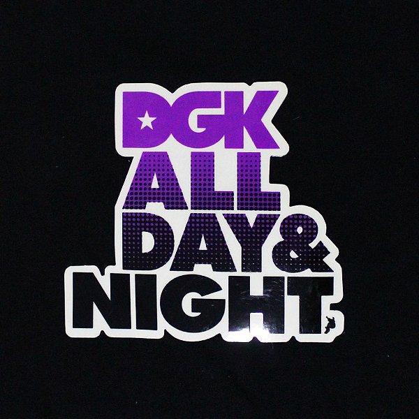 ADESIVO DGK STICKERS ALL DAY ALL NIGHT