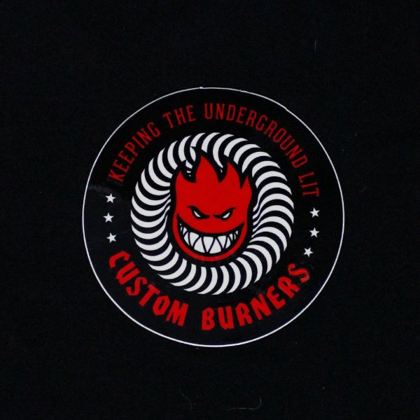 ADESIVO SPITFIRE CUSTOM BURNERS - RED