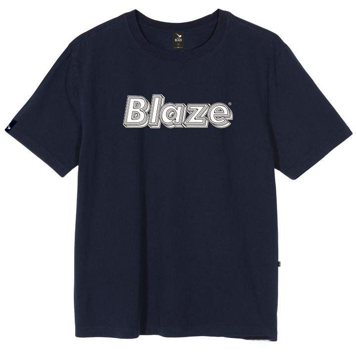 Camiseta Blaze Supply Dimensions - Azul Marinho