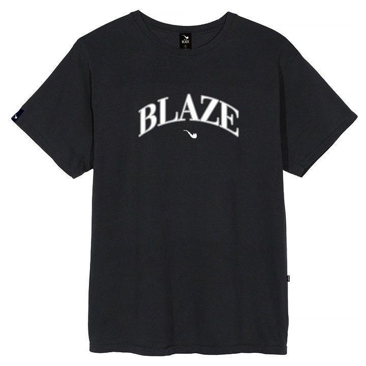 Camiseta Blaze Supply College Preta